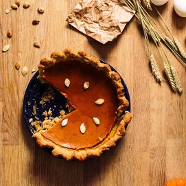 The Hay Day Kitchen: The Pumpkin Pie